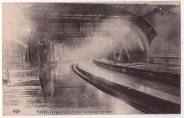 8781 - Paris ( 5e ) - La Gare Saint-Michel Envahie Par Les Eaux - Crue De La Seine - ELD - - District 05