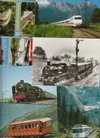 Lot 44 Ansichtskarten Motiv Eisenbahn Und Bahnhof, überwiegend Aus Deutschland - 5 - 99 Postkaarten