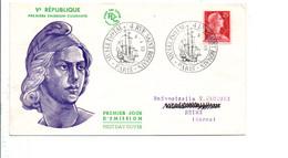 FDC 1959 MARIANNE DE MULLER - 1950-1959