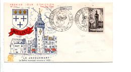 FDC 1955 MOULINS ALLIER - CONGRES VICHY - 1950-1959