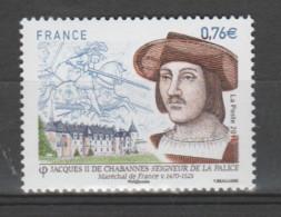 FRANCE / 2015 / Y&T N° 4955 ** : Jacques De La Palice X 1 - Ongebruikt
