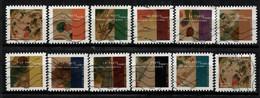 NEW 2021 Les 12 Timbres Du Carnet - KANDINSKY Oblitérés - Used Stamps