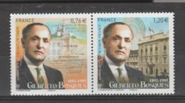 FRANCE / 2015 / Y&T N° 4970/4971 ** (en Fait, P4970 **) : Dyptique Gilbert Bosques X 1 Paire - Unused Stamps