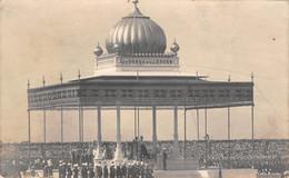 India, DELHI, The Delhi Durbar 1911, The King & Queen At The Pavilion, Real Photo - India