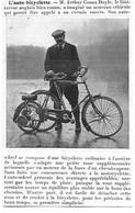 RARE ARTICLE 1913 Velo-Wheel D'Arthur Conan Doyle Bicyclette, Cyclomoteur, Sherlock Holmes - Documenti Storici