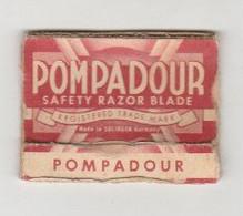 Scheermesje - Razor Blade Pompadour Safety Razor Blade Solingen Germany (D) 1954 - Hojas De Afeitar