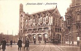 Amsterdam - American-Hotel (tram Tramway Sleding) - Amsterdam