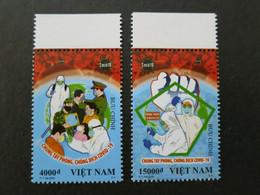 Vietnam MNH Perf Stamps Issued On 31 Mar 2020 : Health Care / Anti Covid-19 / Coronavirus Pandemic - Vietnam