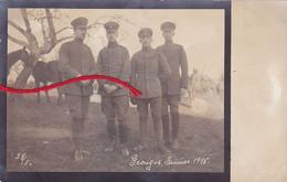( 02 ) - GROUGIS Febr. 1918 Carte Photo Allemande 1° Guerre - Other Municipalities