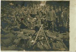 Envoi à Bernister, Malmedy, Ensemble De 2 Photos, Une Du Service Et Une De 1916, 9th RI Nr 160, Ww1 - 1914-18