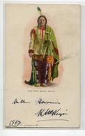INDIENS D'Amérique  Chef SITTING BULL Sioux  No 231 Kropp  écrite Timbrée   D08 2021 - Native Americans