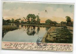 ROUMANIE LUGOS Campagne Pont Bois  Pres Moulin écrite Et Timbrée En 1905    D08 2021 - Romania