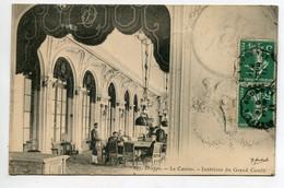 76 DIEPPE Le Casino Salle De Jeux Intérieur Du Grand Cercle 1911 Timbrée   D08 2021 - Dieppe