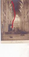 ( 02 ) - SAINT -Quentin  Inneres Von Kirche Carte Photo Allemande 1° Guerre - Other Municipalities
