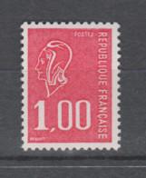 FRANCE / 1976 / Y&T N° 1892b ** : Béquet 1F (sans PHO) - Gomme Métropolitaine (= Brillante) X 1 - Unused Stamps