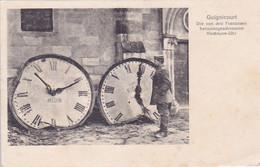 ( 02 ) - GUIGNICOURT Kirchturm-Uhr  Carte  écrite En Allemand 1° Guerre - Other Municipalities