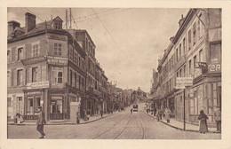 ( 02 ) - Saint-Quentin Rue D' Isle Carte Allemande 1° Guerre - Saint Quentin