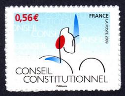 FRANCE 2009 - Autoadhésif Yvert N° 337 NEUF, Le Conseil Constitutionnel - KlebeBriefmarken
