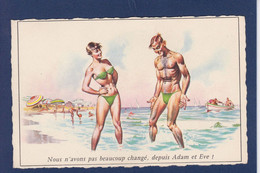 CPSM HOLZER Non Circulé Pin Up Adam Et Eve - Holzer, Adi