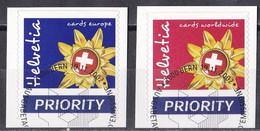 Schweiz 2002 - Mi.Nr. 1818 - 1819 - Gestempelt Used - Usados