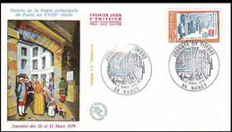 France; NANCY Fête Du Timbre 1979 - 1970-1979