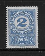 AUTRICHE  ( AUTR - 559 ) 1917  N° YVERT ET TELLIER   N° 86   N** - Strafport