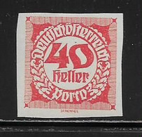 AUTRICHE  ( AUTR - 564 ) 1919  N° YVERT ET TELLIER   N° 99   N** - Postage Due