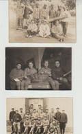 Militaria Important Lot De Cartes-photos Militaires De 1900 à 1940 (62 Pièces) - Altri