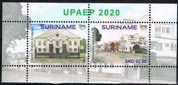 REP. SURINAME 2020 UPAEP SHEET MNH ** - Zonder Classificatie