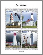 GUINEA REP. 2021 MNH Lighthouses Leuchttürme Phares M/S - OFFICIAL ISSUE - DHQ2117 - Lighthouses
