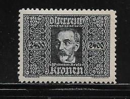 AUTRICHE  ( AUTR - 584 ) 1922  N° YVERT ET TELLIER  N° 11   N** - Luchtpost