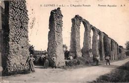 37 - Luynes - L'Aqueduc Romain (animée 1928) - Luynes
