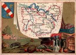 CHROMO - Département De L'Eure ( 27 ) - Evreux Louviers Gisors Pont-Audemer Bernay Verneuil Conches-en-Ouche Vernon - Autres