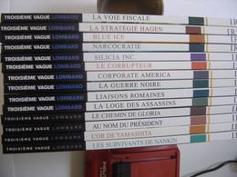BD Bande Dessinee VRANCKEN DESBERG Lombard IRS 14 Volumes De 1 A 14 + 17 Et 18 En EO - Wholesale, Bulk Lots