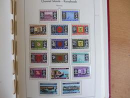 Kanalinseln - GUERNSEY+ ALDERNEY ** 1969, MIT 22+23B ... Bis ... , Alles Bebildert - Collections (with Albums)