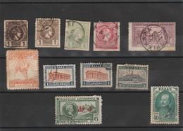 Grèce  - Petite Collection De Timbres Anciens - Collections