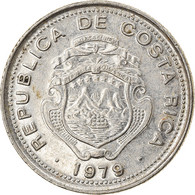 Monnaie, Costa Rica, 10 Centimos, 1979, TTB, Nickel Clad Steel, KM:185.2b - Costa Rica