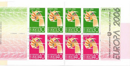 Cyprus Genummerd MH Blad 2006 - 2006