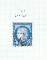 Variété Suarnet N°41 2ème état - 1871-1875 Ceres