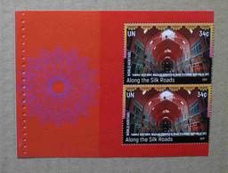 Ny17-04 : Nations-Unies (N-Y) - Patrimoine Mondial Routes De La Soie, Bazar Historique De Tabriz (Iran) - Ongebruikt