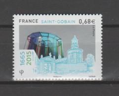 FRANCE / 2015 / Y&T N° 4984 ** : 350 Ans De L'entreprise Saint-Gobain X 1 - Unused Stamps