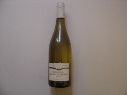 Bouteille De Vin BOURGOGNE Hautes Cotes De Nuits 2008 BLANC A Bichot B Loiseau - Wine