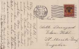 "SUISSE : CP .  OBL . "" BERN 1 . BREIEFEXPEDITION "" . 1919 . - Briefe U. Dokumente"