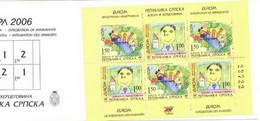 Bosnie HZGV Servische Republiek Genummerd H Blad - 2006