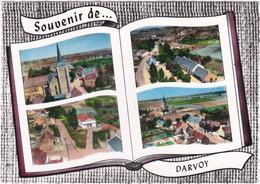 45. Gf. Souvenir De DARVOY. 4 Vues. 101 - Other Municipalities