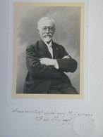 PHOTO ORIGINALE - Mr Le Comte De Saint Saud (1853.1951) Pyrénéiste - Manuscrit Dédicacé à Mr Gourdon -1929  (Ph 130) - Fotografie