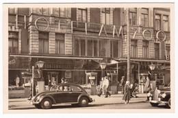 HOTEL AM ZOO - GERMANIA -  VW MAGGIOLINO - CARTOLINA ANNI '50 - Alberghi & Ristoranti