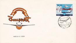 PERU. CINCUENTA ANIVERSARIO FAUCETT, 1928 - 1978, AEROLÍNEA, COMPAGNIE AÉRIENNE. FDC, ENVELOPPE.- LILHU - Vliegtuigen