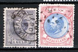 Olanda 1872 Unif. 28/29 O/used VF/F - Usados