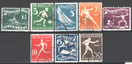 Olanda 1928 Unif. 199/206 O/used VF/F - Usados
